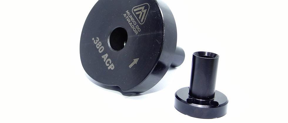 Kit troca calibre para Calibrador Rotativo 380ACP