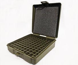 Caixa para Munições .9mm/380ACP (VERDE)