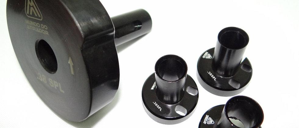 Kit troca calibre para Calibrador Rotativo .38SLP/357