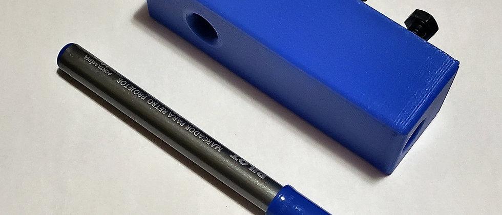Marcador Manual 1 risco - Cor Preto - .45