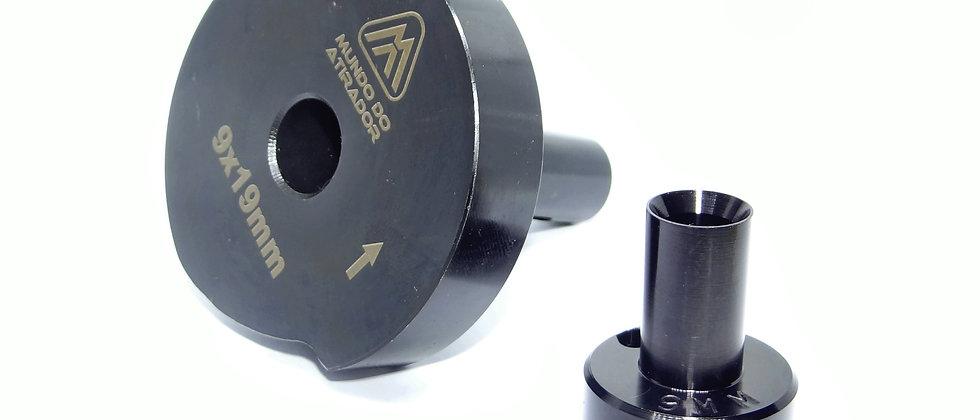 Kit troca calibre para Calibrador Rotativo 9x19mm
