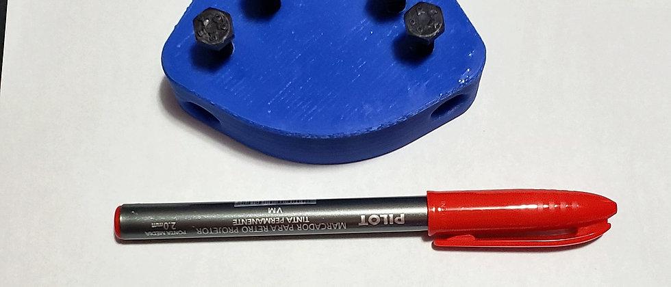 Marcador Manual 2 riscos - Cor Preto - .45