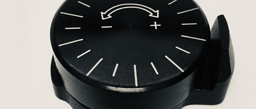Sistema de Knobe para polvorimetro Dilon