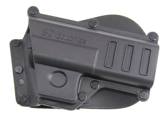 Coldre Pressão p/ Glock G17/G19/G21/G25 Paddle Fixo -  Canhoto