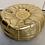 Thumbnail: Gold Moroccan Pouf #2