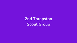 2nd Thrapston Scout Group