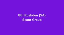 8th Rushden(SA) Scout Group