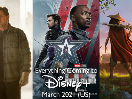 Everything Coming to Disney+ in March 2021 (US)