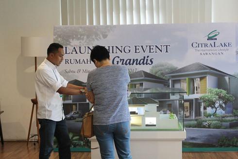 Launching Grandis CitraLake Sawangan