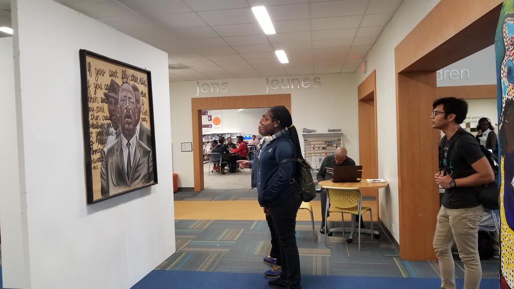 muce at North miami library