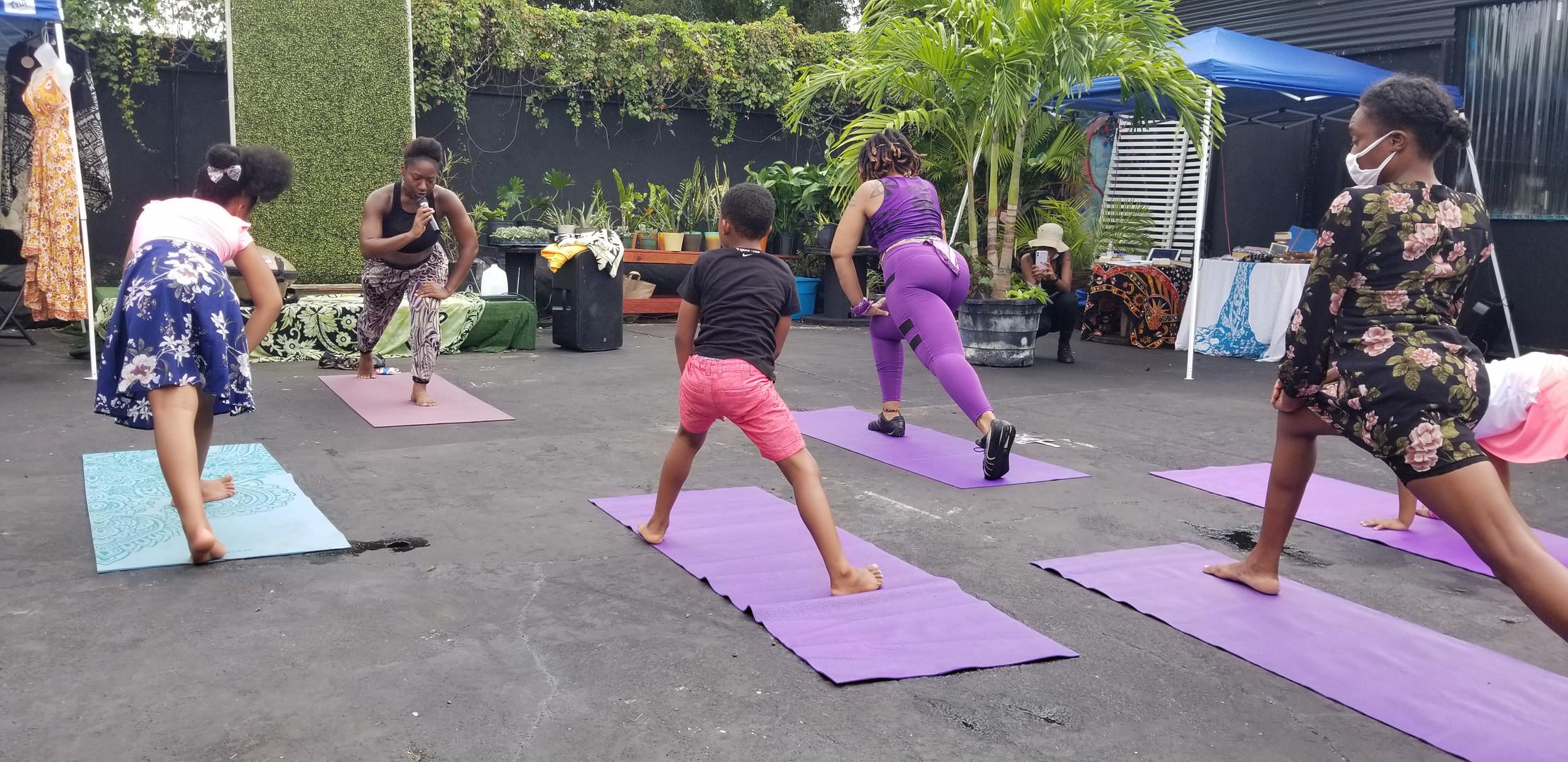 yoga at MUCE Campus