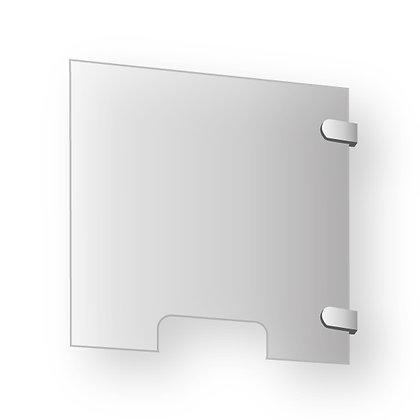 Vitre de protection à fixer en verre acrylique - Hygiaphone