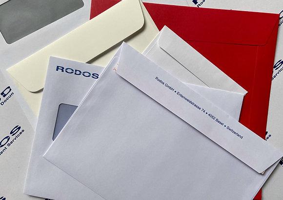 Kuverts - Briefumschläge