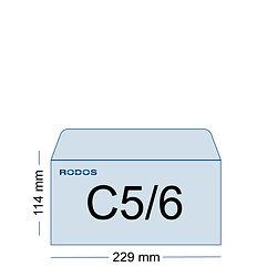 Impression enveloppes C5/6 personnalisées