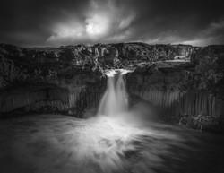 Aldeyjarfoss Waterfall Iceland