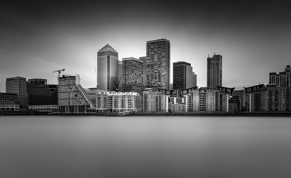 Canary Wharf London, Long Exposure