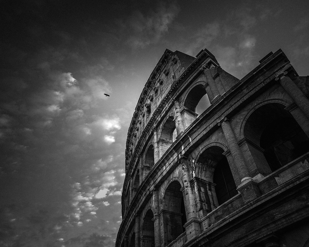 One day we will soar, Colosseum Rome Italy