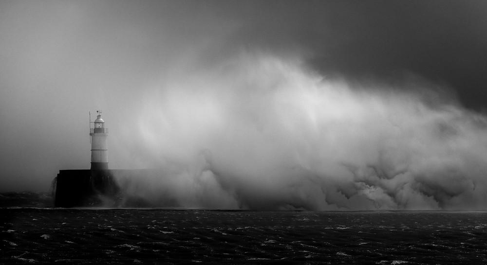 storm seascape photography