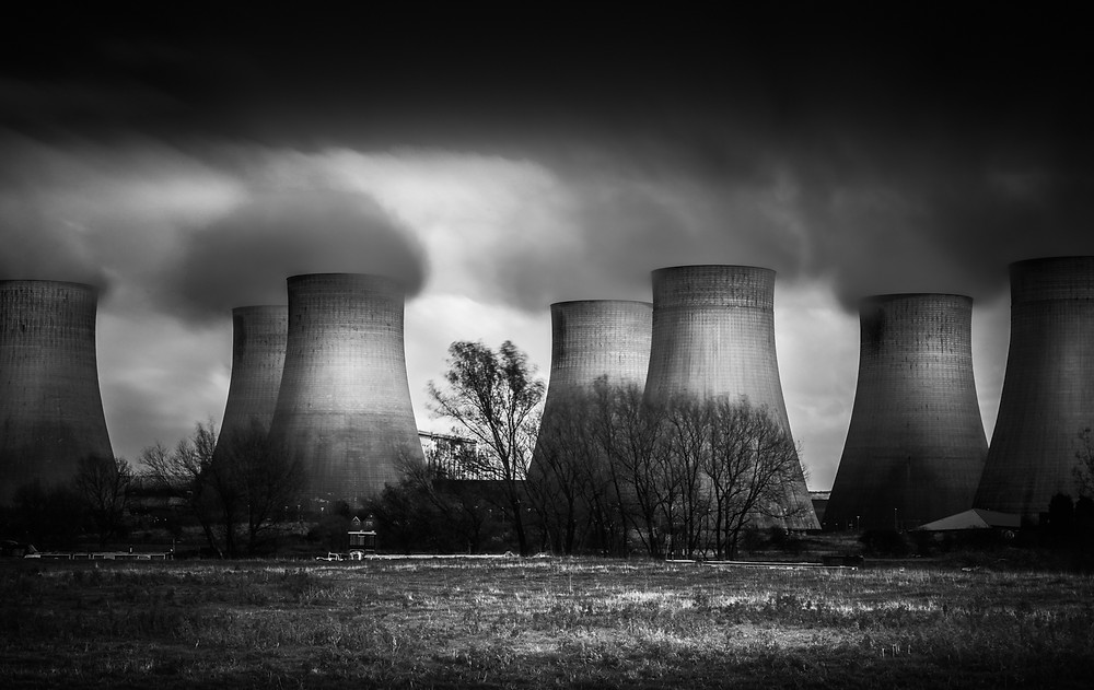 Ratcliffe power station, long exposure