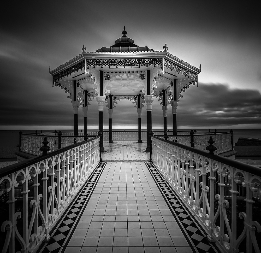 Brighton bandstand, Long exposure workshop