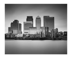 Canary Wharf Skyline London