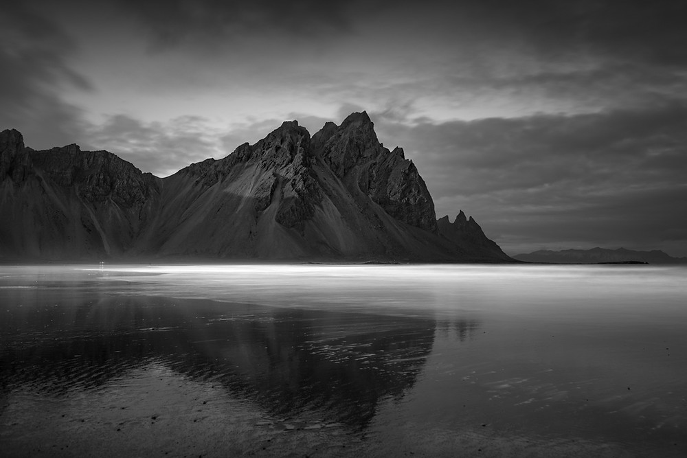 long exposure photography iceland