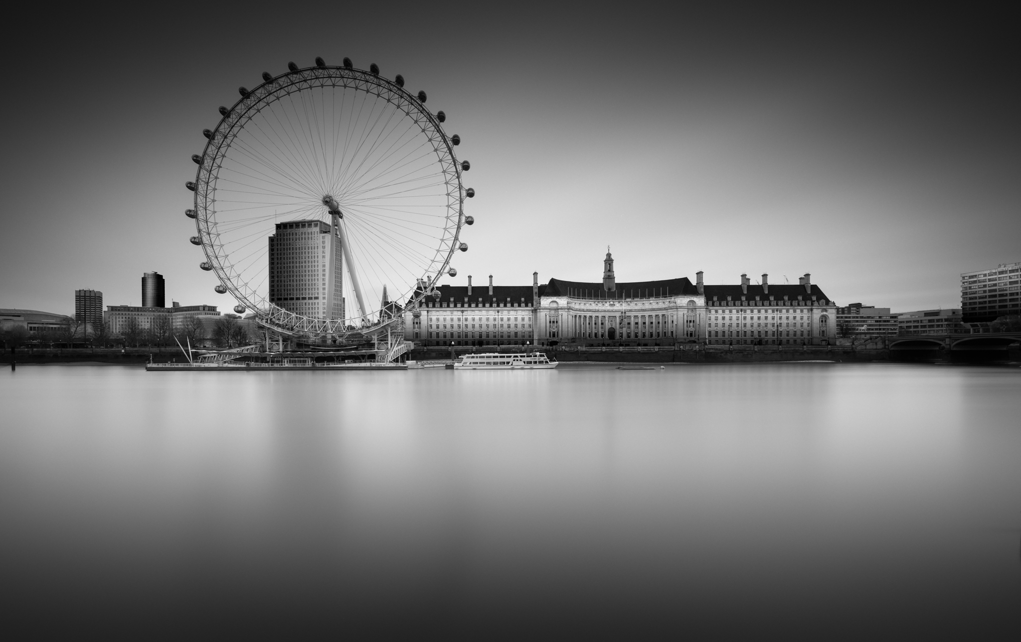 London eye, long exposure