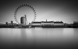 London eye, long exposure