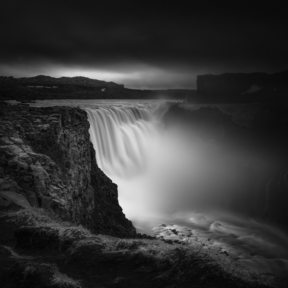 Dettifoss Iceland, fine art long exposure photography