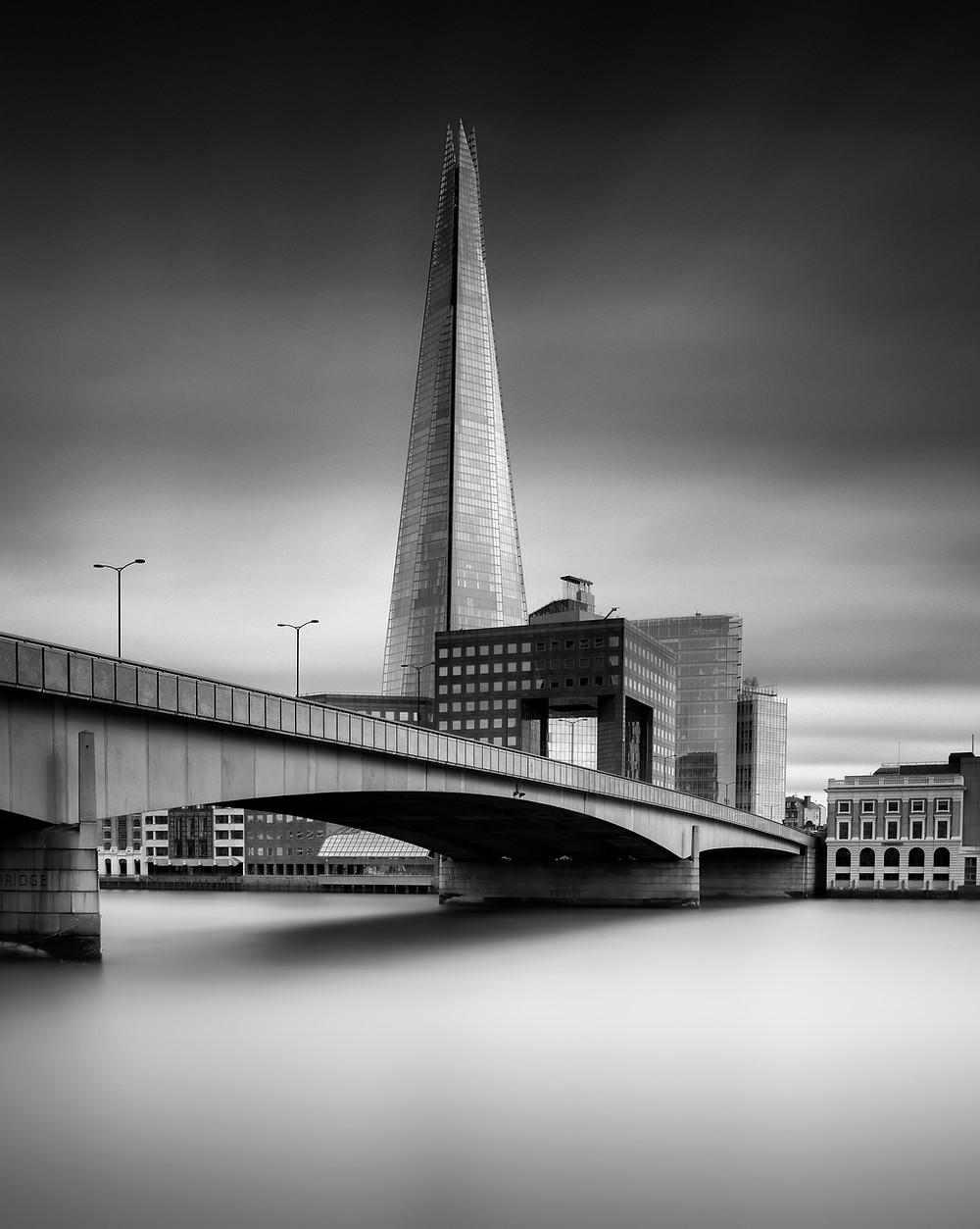 The Shard London Bridge, Long Exposure