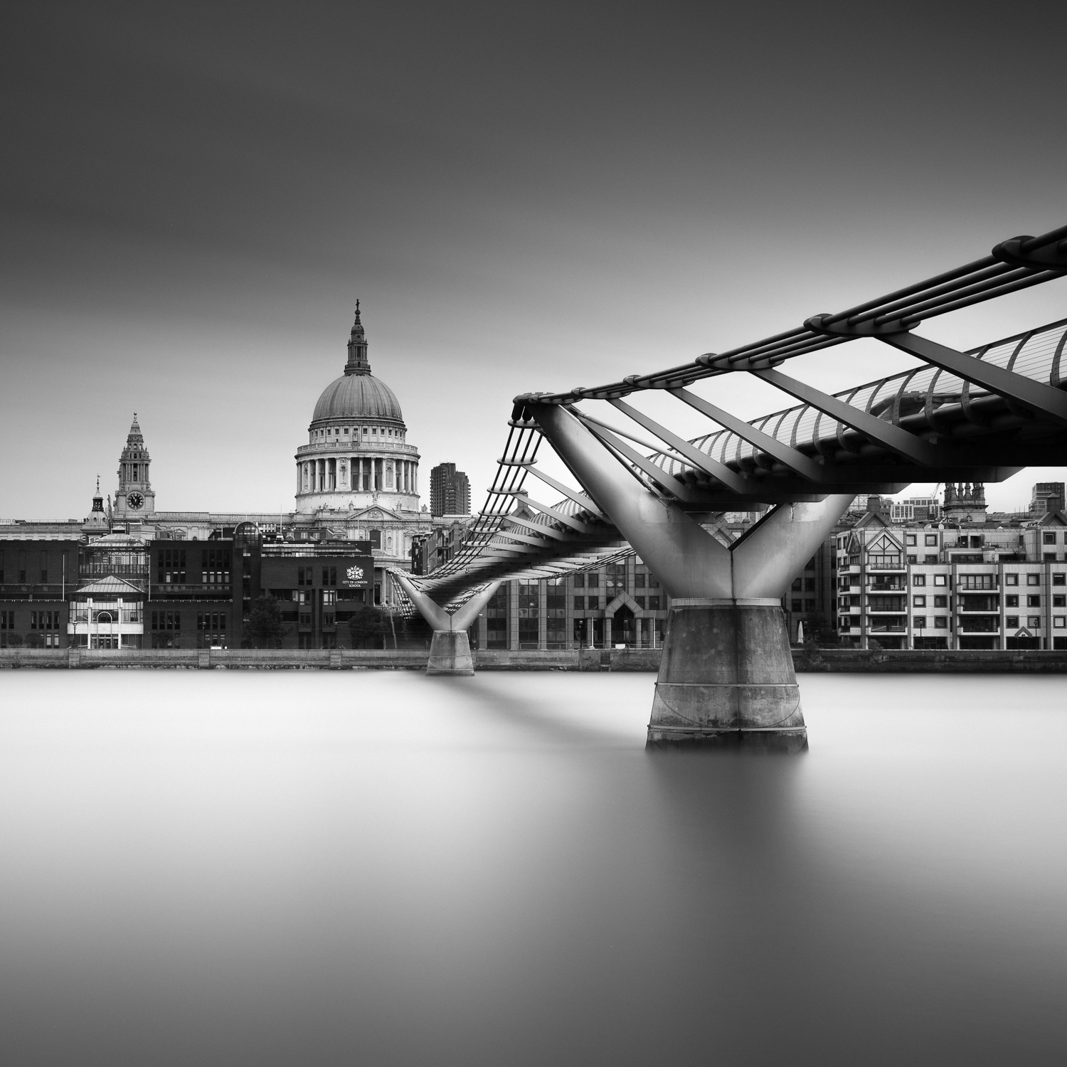 St Pauls, long exposure photo