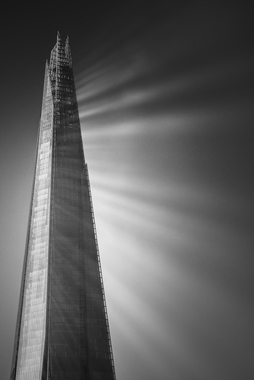 The Shard Light Rays, London
