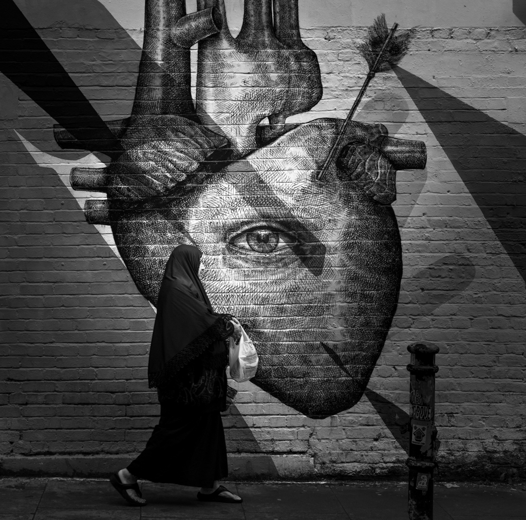 Heart, brick lane art