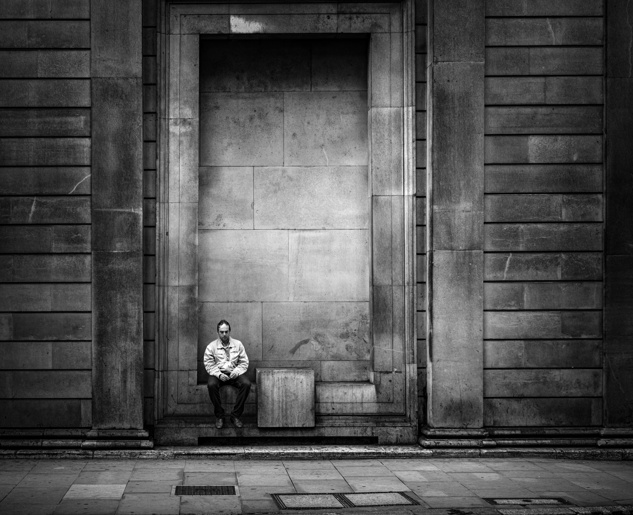 Boxed IN, street photography london