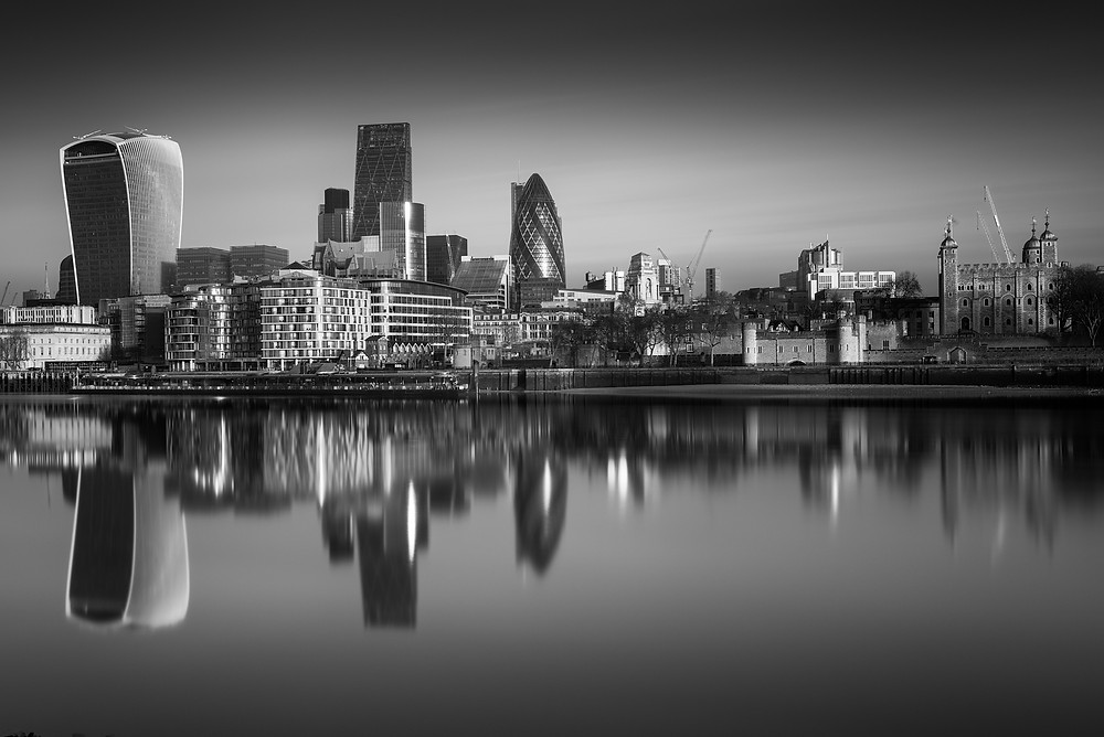 City of London, Fine Art, Long Exposure Photography
