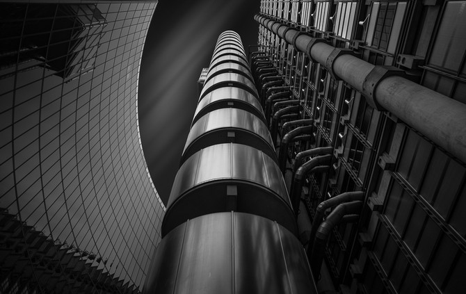 Attack of the Machines, Lloyds Building, London