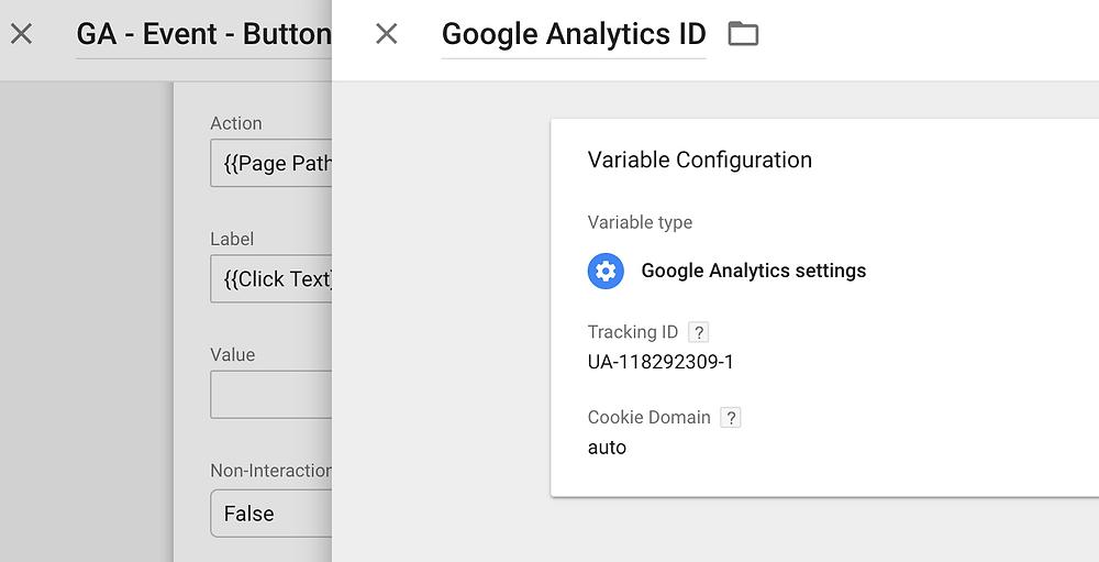 Google Tag Manager Tag - Google Analytics ID - Luca Tagliaferro