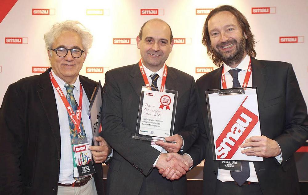 Seeweb vince Premio Innovazione SMAU 2017