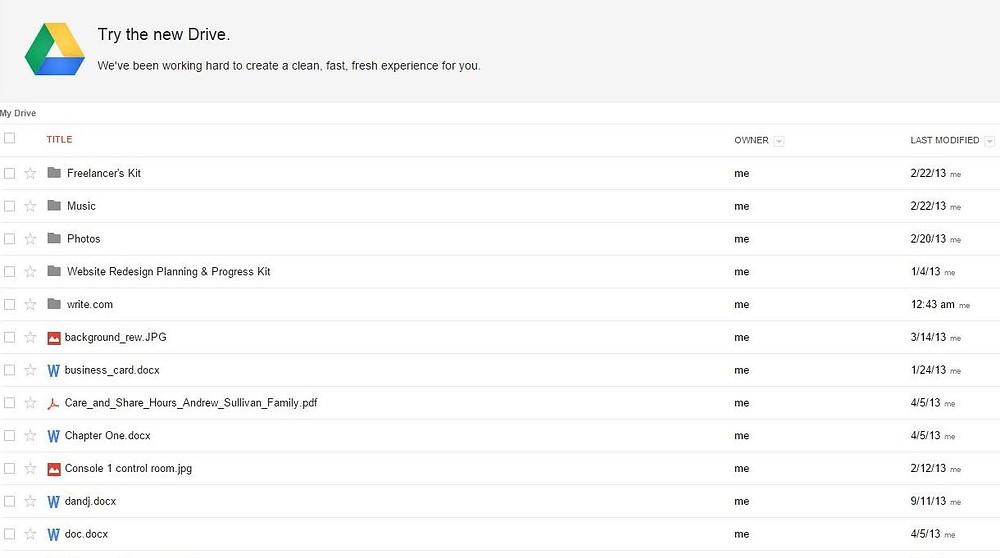 Cartella Google Drive