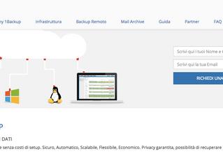 Introduzione a 1Backup.me: la soluzione backup on-line con infinite applicazioni.
