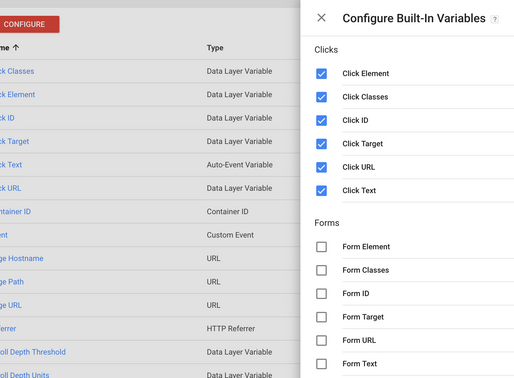 Track button clicks with Google Tag Manager