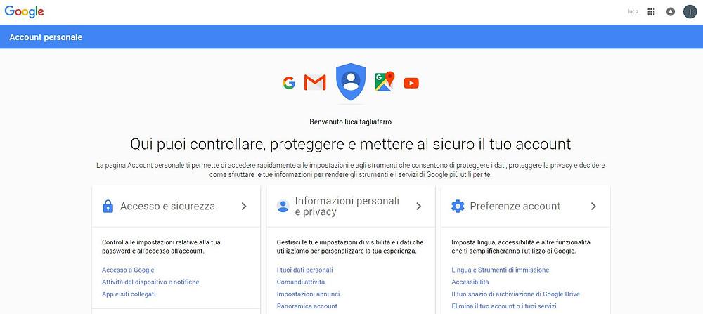 account google