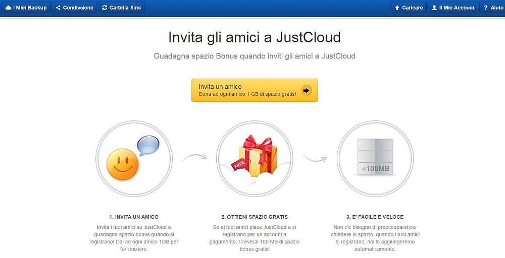 justcloud invita amici.JPG