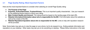content creator reputation Google