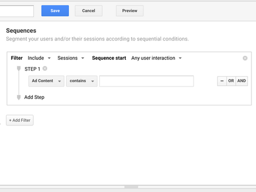 How to boost your insights with Google Analytics sequence segments