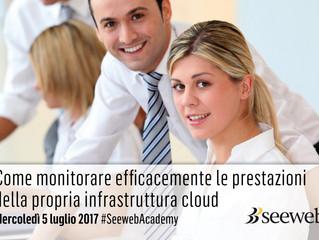 Seeweb presenta la 2° edizione della conferenza sul monitoraggio Cloud