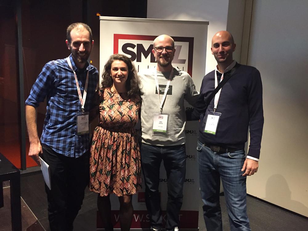 Jean-Francois Verville, Chiara Terribili, Simo Ahava, Luca Tagliaferro