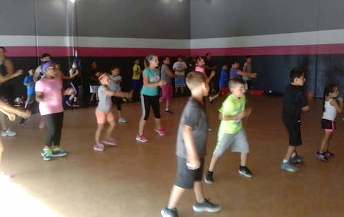 Fit Kids - Zumba Only - (Mon & Wed at 4pm)