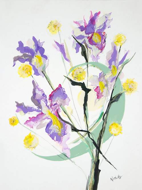 The Story of Iris, Giclee Artist PRINT