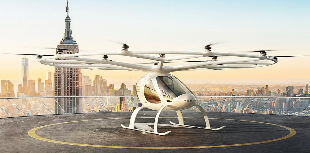 Bild2: Flugtaxi von Volocopter (Quelle: Volocopter)